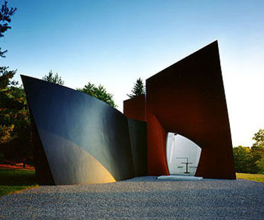Philip Johnson: pabellón para visitantes, Connecticut