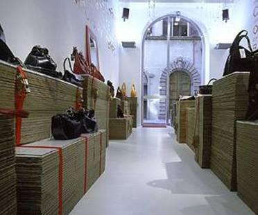 Antonio Barbieri<br> Chiarini, La tienda temporal