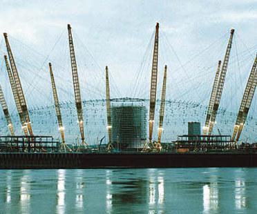 Rogers-Hadid-Imagination<br> Millennium Dome, península de Greenwich, Londres, 1996-1999