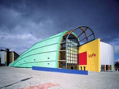 Terry Farrell<br> International Centre for Life, Gran Bretaña, 1996
