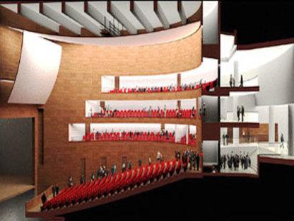 Salle de spectacles du Pays <br> d'Aix Sextius - Mirabeau