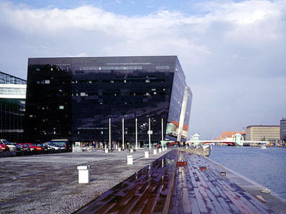 The Black Diamond - Copenhague<br> Schmidt, Hammer, Lassen.