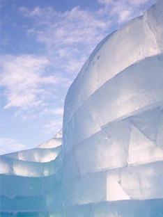 Zaha Hadid y Cai Guo-Quiang<br> The Snow Show 2004