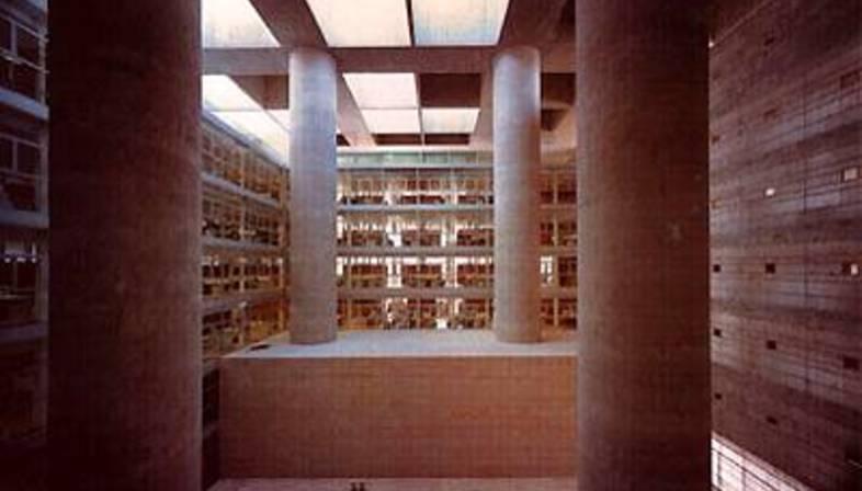 Alberto campo baeza sede central de la caja general de ahorros granada espana 2001 floornature - Campo baeza caja granada ...
