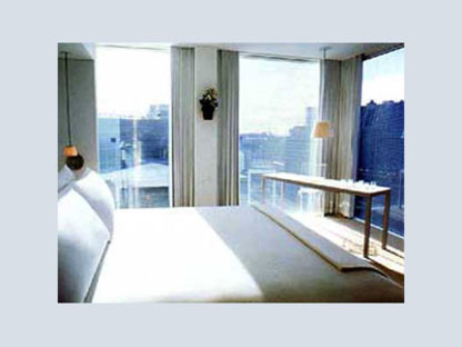 Philippe Starck<br> St. Martins Lane Hotel, Londres
