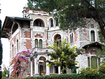 Luigi Ferrari<br> Restauración de villa liberty en Roè Volciano