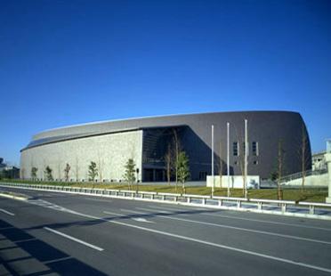 Arata Isozaki: Convention Hall en Nara, Japón