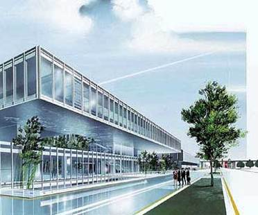Maranello, dos nuevos edificios para la Ferrari.<br> Fuksas y Visconti, 2004