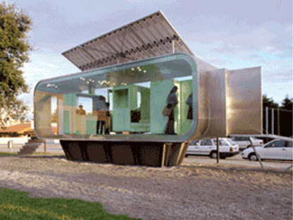 Cannatà y Fernandes.<br> Módulos habitativos CAPA y DST. 2003
