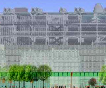 David Mangin. Les Halles. París
