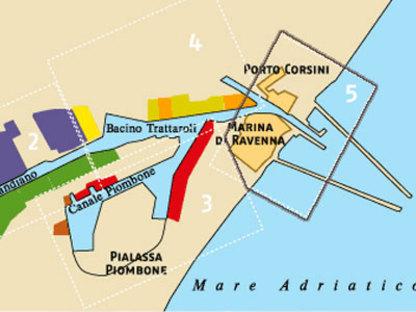 Muelle de Ravenna,<br> Antonio Citterio