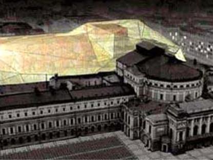 Dominique Perrault<br> Ampliación del Teatro Mariinskij <br>San Petersburgo