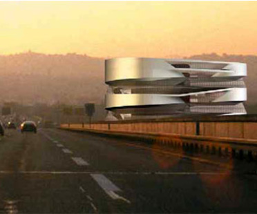 Museo Mercedes-Benz en Stuttgart.<br> UN Studio