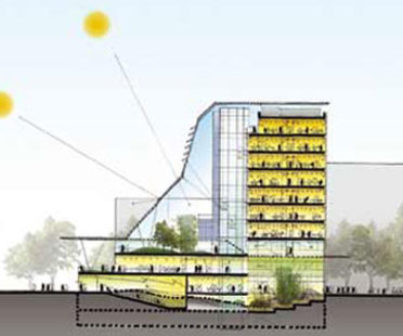 Sino Italian Energy Efficient Building. Mario Cucinella Architects. Pekín. 2004