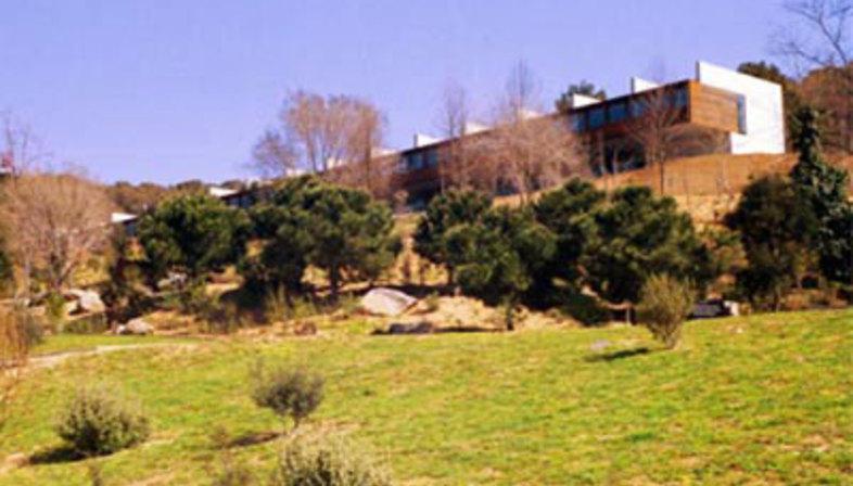 Instituto del jardin botanico de barcelona carlos ferrater for Restaurante jardin botanico