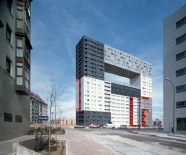 Edificio para viviendas Mirador<br> MVRDV + Blanca Le&oacute;<br> Madrid, 2005
