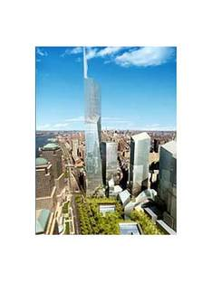 Nueva York, Torre de la Libertad.<br> Daniel Libeskind y David Childs. 2005