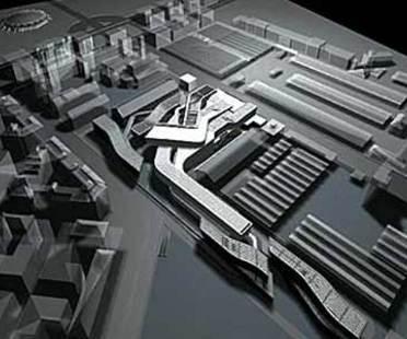MAXXI-Centro Nacional para las Artes Contemporáneas. Zaha Hadid. Roma