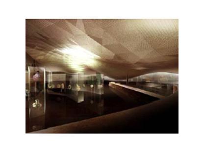 París. Museo del Arte Islámico del Louvre. Mario Bellini y Rudy Ricciotti. 2005