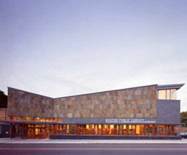 Honan-Allston Branch Library<br> Machado and Silvetti Associates<br> Boston, 2001