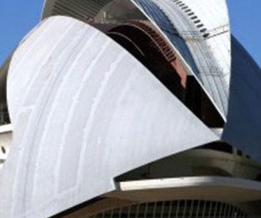 Valencia. Palacio de las Artes<br> Santiago Calatrava. 2005