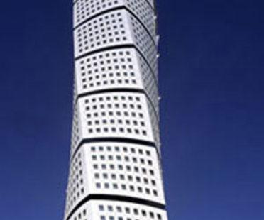 Turning Torso, Santiago Calatrava. Malmoe, 2005