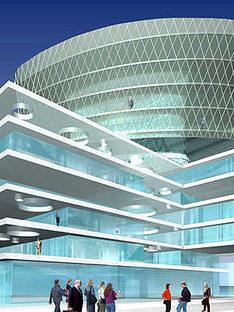 Nueva sede de Fater spa<br> Massimiliano Fuksas. Pescara