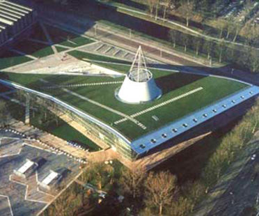 Biblioteca de la Universidad de Tecnología de Delft<br> Mecanoo, 1998