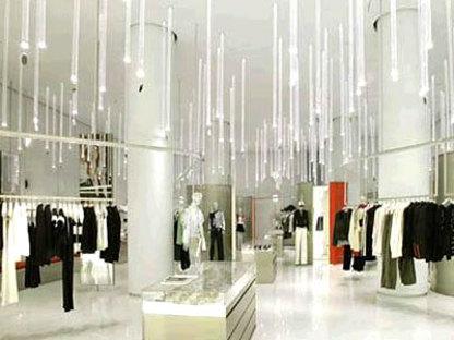 Shanghai. Emporio Armani<br> Massimiliano y Doriana Fuksas. 2004