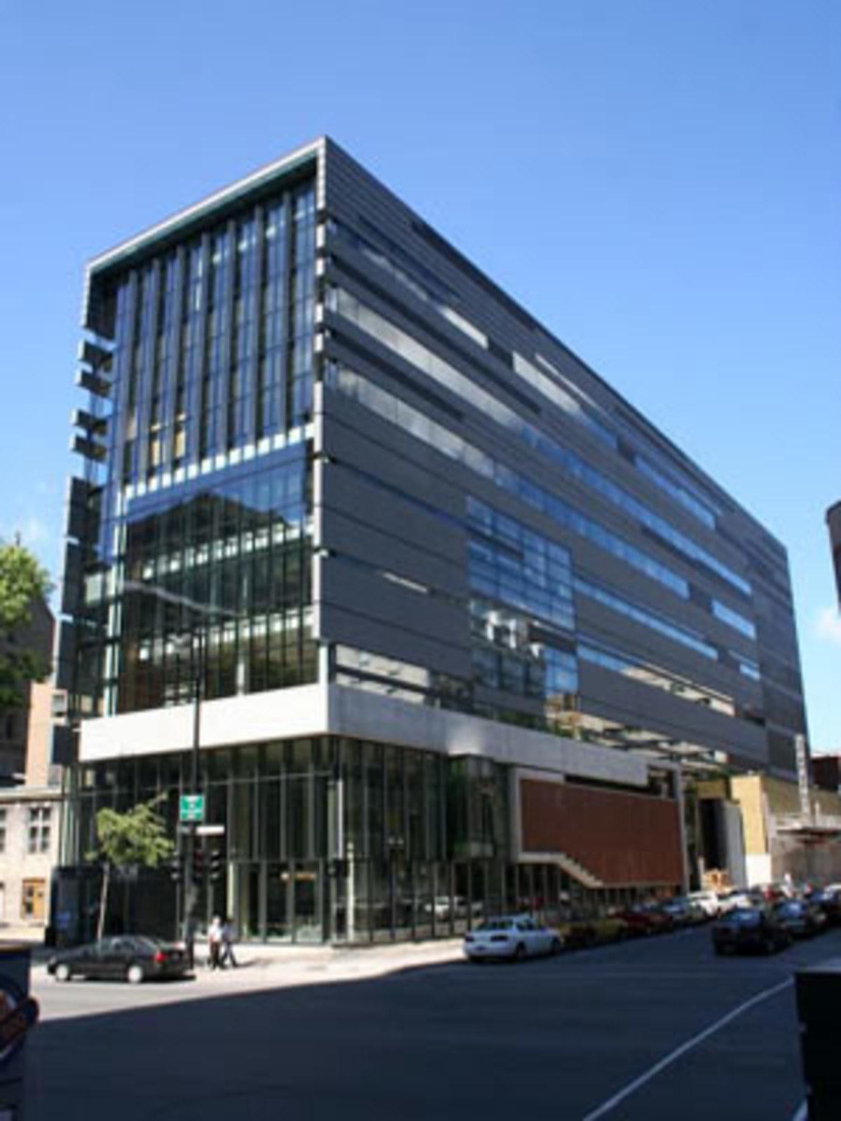Facultad de Música - Universidad McGill, Saucier + Perrotte y Menkès Shooner Dagenais. Montreal, 2005