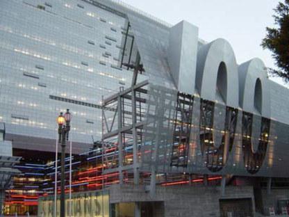 Sede Central de Caltrans District 7, Morphosis. Los Angeles, 2004