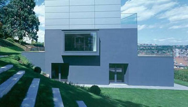Casa M. Bottega + Ehrhardt Architekten. Stuttgart. 2004