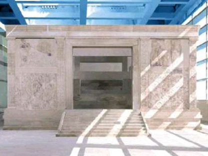 Museo del Ara Pacis. Richard Meier. Roma. 2006