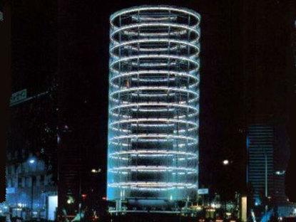 La torre de los vientos. Yokohama. Toyo Ito. 1986