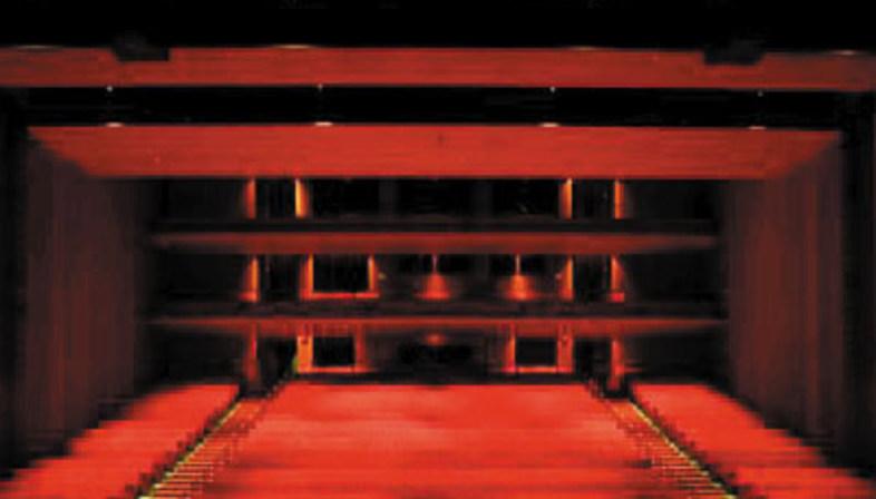 Jean Nouvel. Guthrie Theatre. Minneapolis. 2006