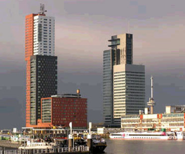 Montevideo Tower. Rotterdam. Mecanoo. 2005