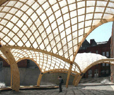 Obra Architects, Pabellón temporal del PS 1. Nueva York. 2006