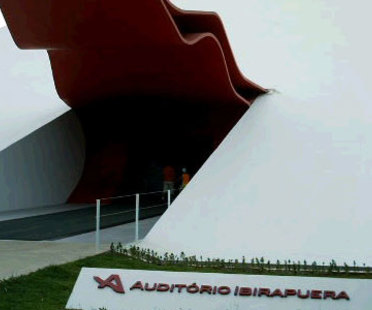 Ibirapuera Auditorium. Sao Paulo, Oscar Niemeyer. 2005