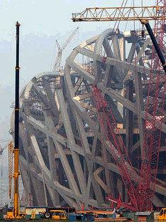 Estadio olímpico. Pekín. Herzog y de Meuron. 2006