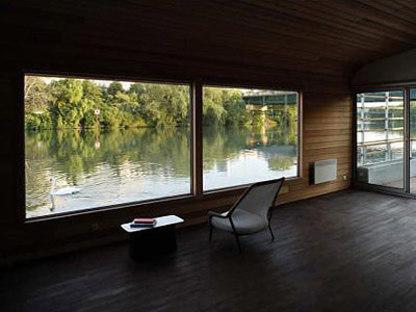 The Floating House - Ronan y Erwan Bouroullec. Chatou, 2006