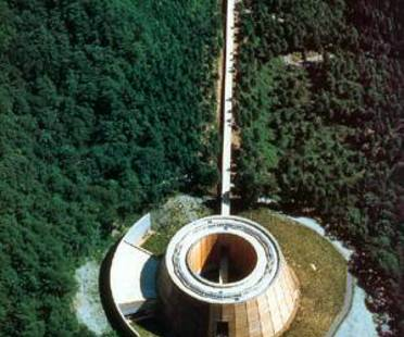 Tadao Ando. Museum of Wood. bosque de Mikata-gun