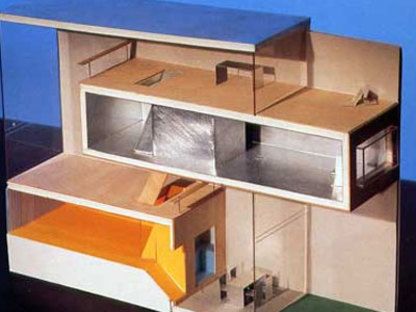 Two Houses. Ámsterdam. MVRDV. 2000