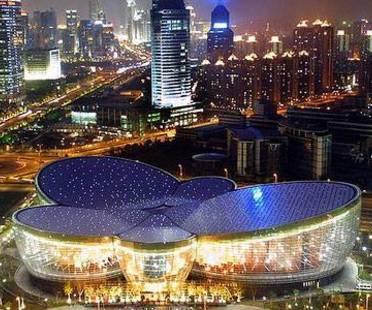 Centro Arti Orientali. Shanghai. Paul Andreu. 2005