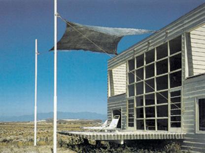 Casa Klotz, Playa Grande de Tongoy, 1991