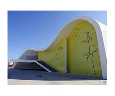 Teatro Popular de Niteroi (Brasil) Oscar Niemeyer. 2007