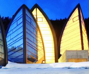 Centro de bienestar Bergoase. Mario Botta. Arosa (Suiza). 2006