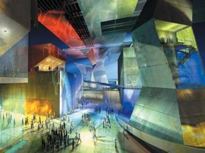 Coop Himmelb(l)au, Nuevo Centro Urbano Comercial y de Entretenimiento JVC de Guadalajara