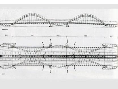 Puente Ijburg. Ámsterdam. Nicholas Grimshaw & Partners. 2001