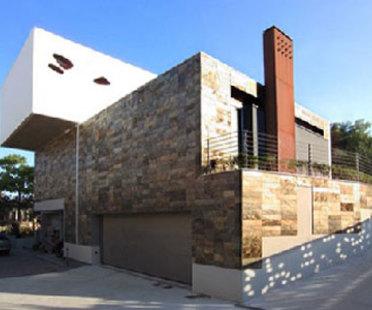 Nuevas oficinas Lavaal. Teramo. Giovanni Vaccarini. 2001