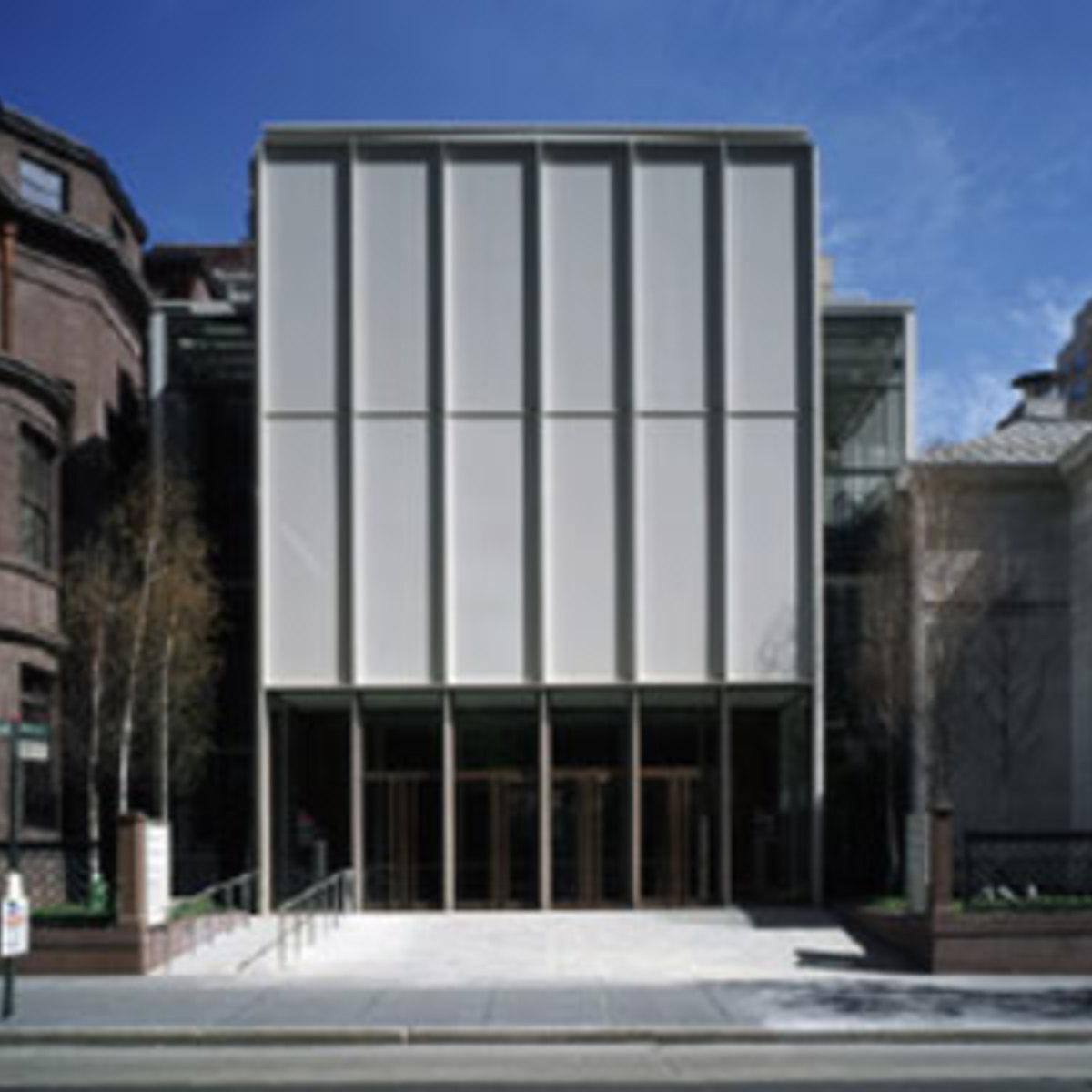 Morgan Library Nueva York Renzo Piano 2006 Floornature
